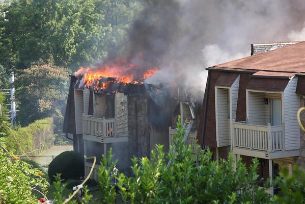Fire at Nob Hill apartments 6/19/08