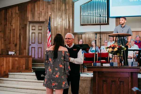 Senior Church Recognition 2019