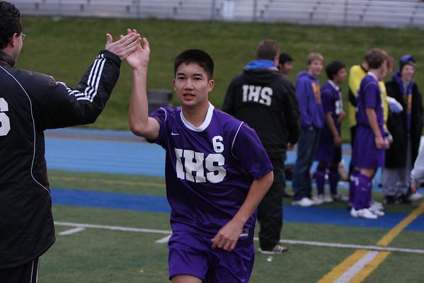 2008-04-22 IHS Boys Soccer vs Bellevue