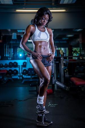 Cherlene at Gym