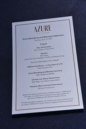 Azure Groundbreaking & Blessing 4-22-19