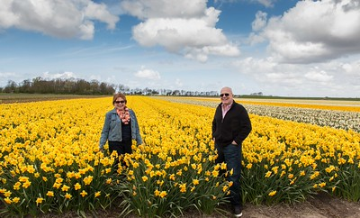Maggie and Larry Emery in the Netherlands