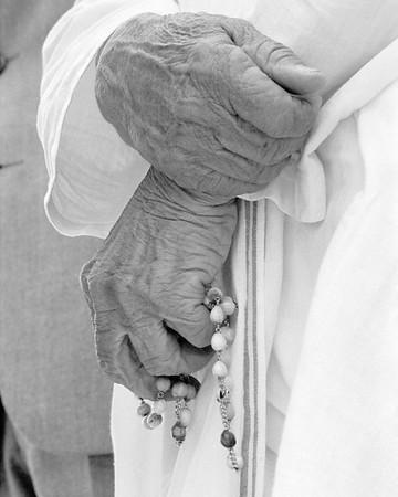 Mother Teresa in St Paul, Alberta, Canada