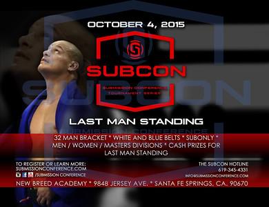 SUBCON FIVE - Last Man Standing