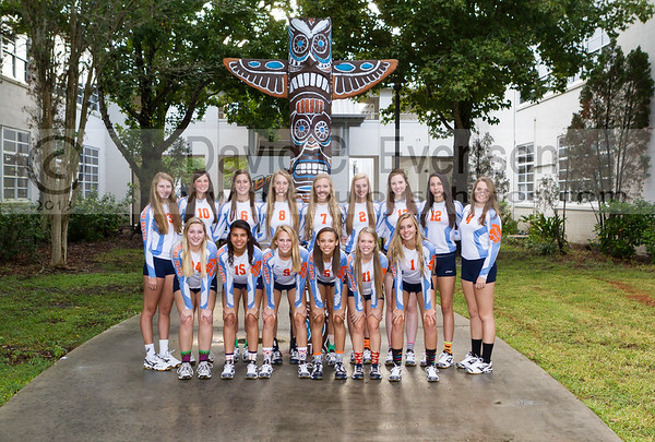 Varsity Volleyball Player Number Galleries - 2013