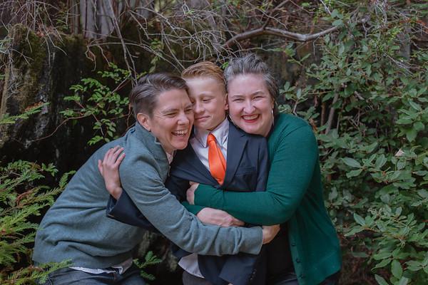 Sage, Emily, & Eli Family Portrait