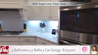 4332 Argyle Lane, Frisco, Texas