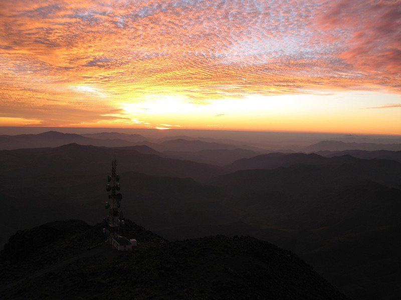 Sunset from Cerro Tololo