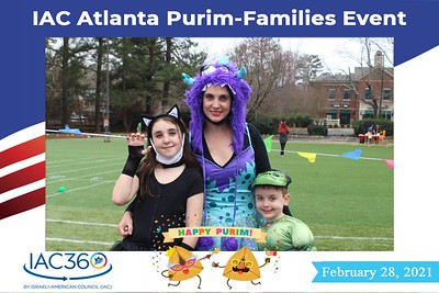 IAC Purim Families Event-2/28/2021