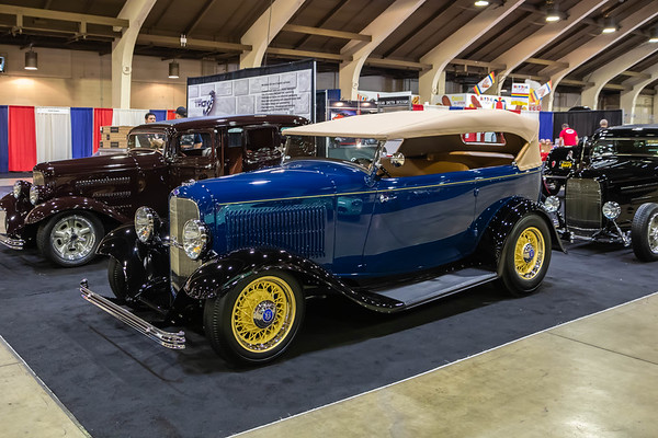70th Grand National Roadster Show - Set-Up Day in Pomona, CA - January 2019
