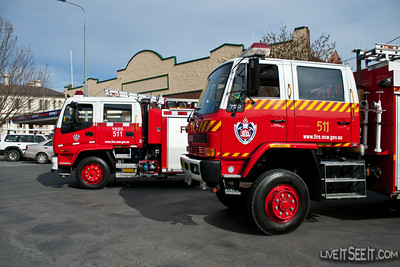 NSWFB/FRNSW Pumpers
