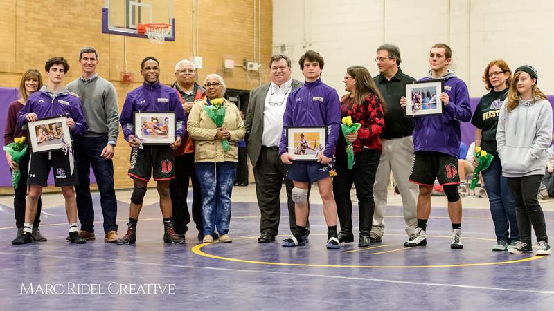 Broughton wrestling senior night.. January 23, 2018.