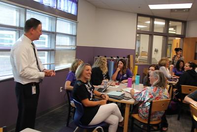 Monarch K-8 Back to School Superintendent Visit