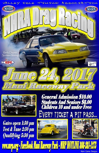 Maui Drags  ~  June, 2017