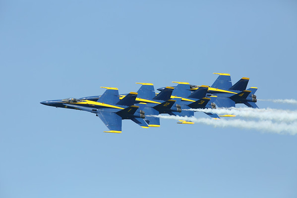 "2014 Chicago Air Show "" The Blue Angels""  August 15, 2014"
