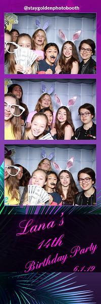 Lana's 14th Birthday Party