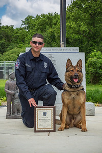 Richmond K9 Graduation, June 3, 2016