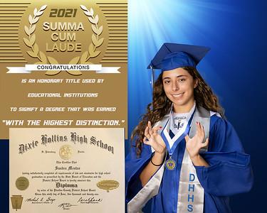 Dixie M Hollins HS Graduation 2021