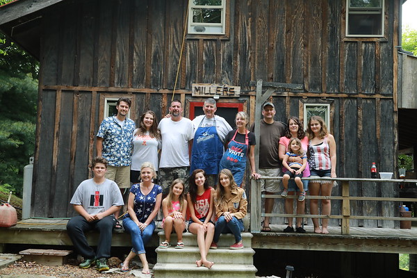 cabin 4th of july 2017