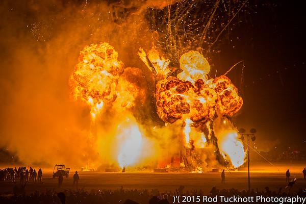 Burning Man )'( 2015