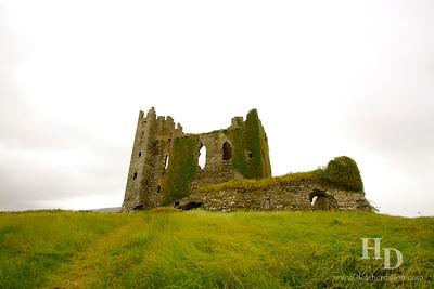 2014-07 Ballycarbery Castle