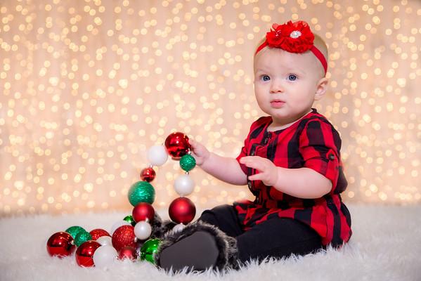 Gianna 1st Christmas