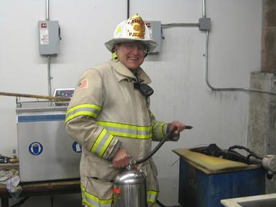 Kenneth Miner Drive, Wrentham - Machine Fire: September 14, 2007