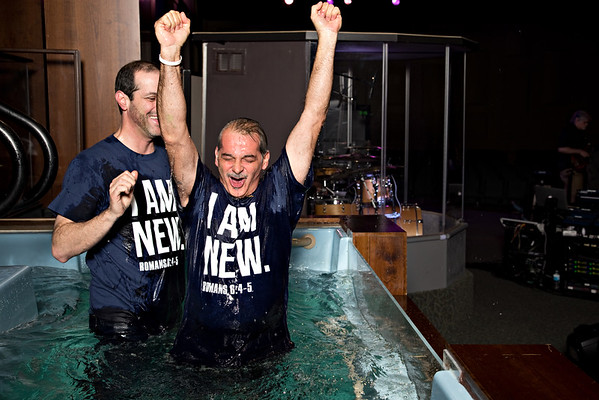 Night of Baptisms January 21, 2015
