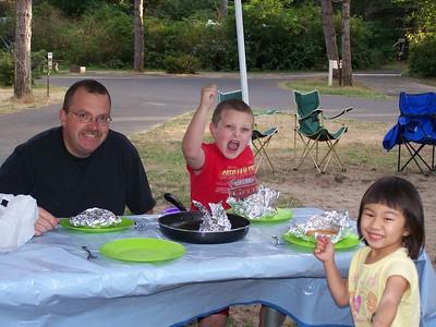 Camping Ft. Stevens 2009