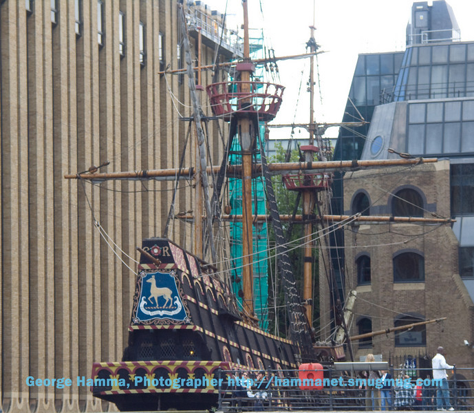 Golden Hind, London
