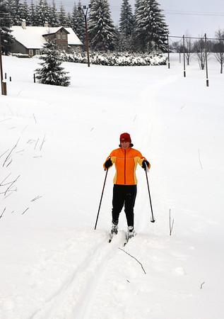 Skiing in Jizera Mountains 2008