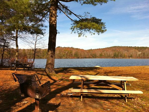 Torrington Burr Pond State Park picnic and pond wikepedia