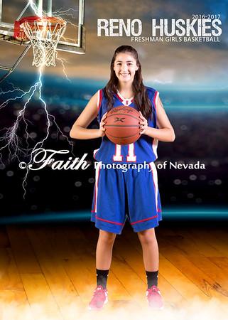 RHS Frosh GIRLS Basketball Portraits