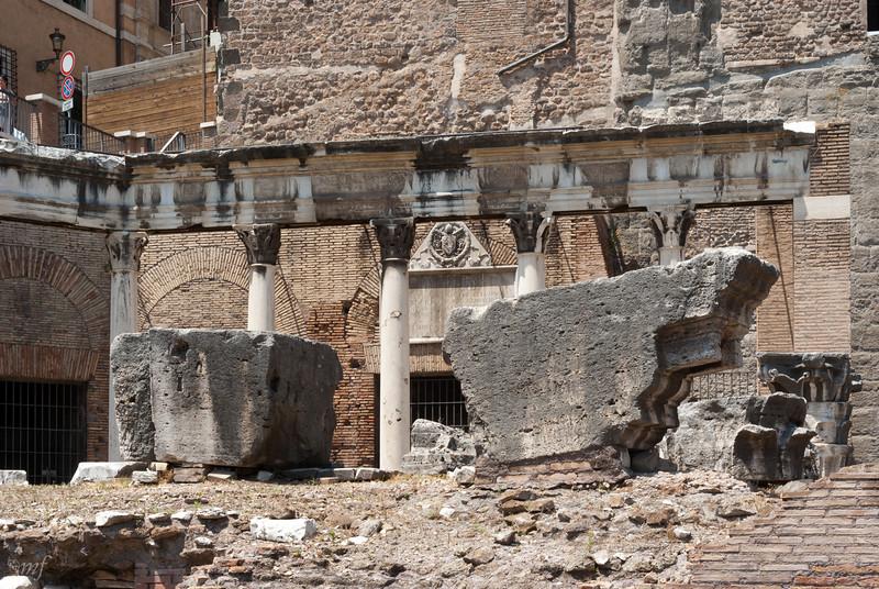 Forum Romanum, Capitol hill side