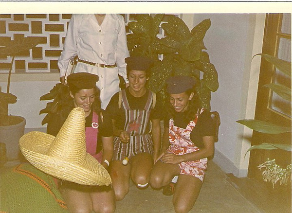 Linda Madureira, Fernanda Virgilio e Teresa Caetano