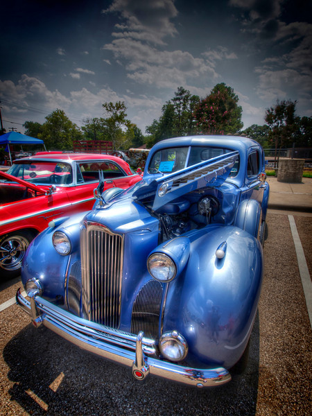 Blue Packard