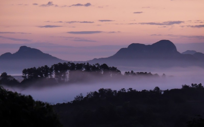 Dawn in the Mogote Mountains