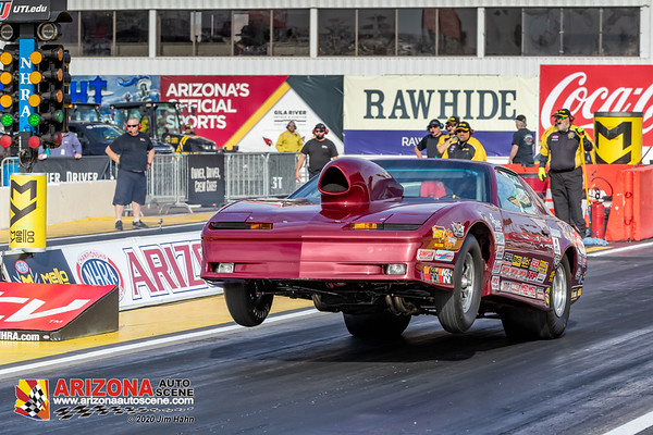 Day One Qualifying for the 2020 NHRA Arizona Nationals