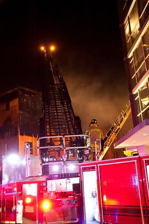 Cliffside Pk NJ 3rd & 2nd alm fires, 223 Walker St & 325 Palisades Ave. 11-18-14