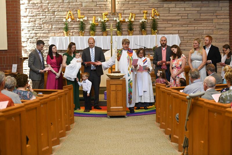 2019-04-28 Maggie and Iris Baptism