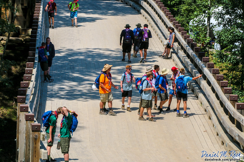 Exploring the World and Building Bridges at the World Scout Jamboree