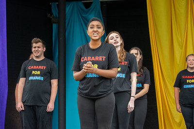 Cabaret for Change and Into the Woods Jr
