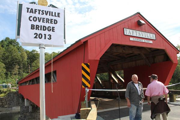 Taftsville Bridge Reopening