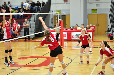 VG Volleyball vs Lowville 1-30-12