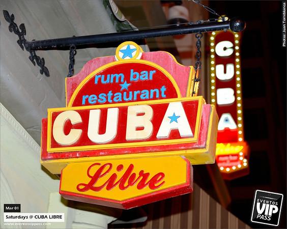 CUBA LIBRE | Sat, Mar 01