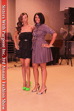 Sisters With Purpose Inc. 3rd Annual  Fashion Show