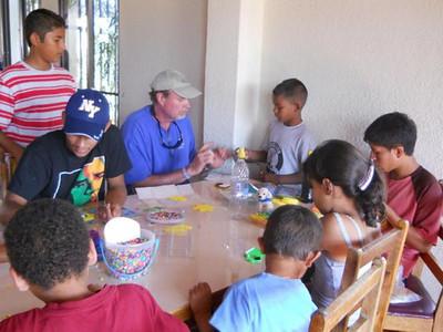 Jovenes en Camino - Lipscomb Students Visit