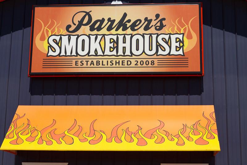 Enjoying some authentic Nebraska barbecue