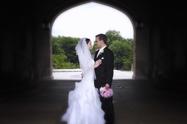 Adam and Amy Wedding May 2010