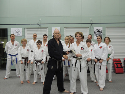 Sensei Patricia's 5th Dan Promotion
